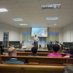 Photo taken at Igreja Presbiteriana da Alvorada by Carlos Henrique R. on 2/2/2014