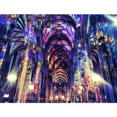 Photo taken at Stephansdom | St. Stephen's Cathedral by Michalis A. on 3/5/2013
