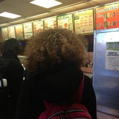 Photo taken at SUBWAY by Phillipe on 2/13/2013