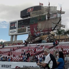 Photo taken at Raymond James Stadium by Angela B. on 11/11/2012