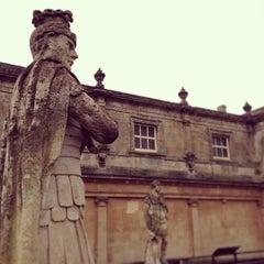 Photo taken at The Roman Baths by Matt C. on 1/5/2013