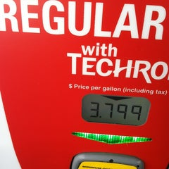 Photo taken at Chevron by Erik S. on 1/24/2013