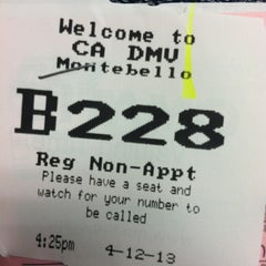 Photo taken at Department of Motor Vehicles by Erik S. on 4/12/2013