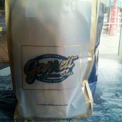 Photo taken at Garrett Popcorn Shops - Navy Pier by George R. on 4/2/2013