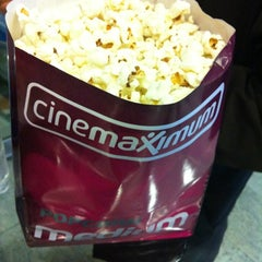 Photo taken at Cinemaximum by Elif P. on 12/6/2012