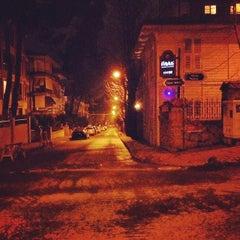 Photo taken at Tepegöz Sokak by Funda S. on 2/25/2014