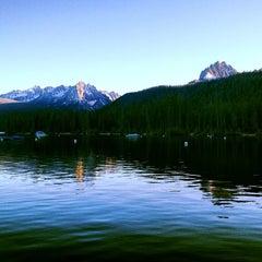 Photo taken at Redfish Lake Lodge by Brian E. on 6/4/2013