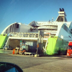 Photo taken at Tallink M/S Star by Ксения С. on 5/1/2013