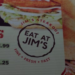 Photo taken at Jim's Steakout by Chris on 10/17/2012