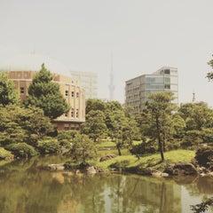 Photo taken at 旧安田庭園 by ATSUSHI G. on 7/27/2015