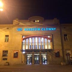 Photo taken at Rzeszów Główny by Mirosław D. on 7/11/2015