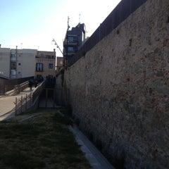 Photo taken at Plaça de la Muralla by Lorenzo B. on 4/23/2013