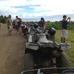 Photo taken at ATV at Kualoa Ranch by Rachel D. on 7/28/2013