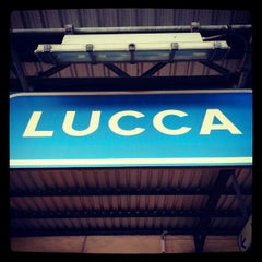 Photo taken at Stazione Lucca by Gideon Y. on 10/13/2012