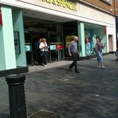 Photo taken at Marks & Spencer by David B. on 4/17/2011