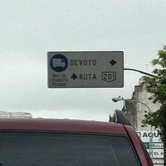 Photo taken at Av San Martin Y Av Beiro by Mariano G. on 10/8/2011