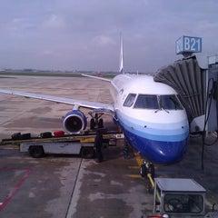 Photo taken at Gate B21 by Michael K. on 9/25/2011