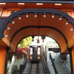 Photo taken at Angels Flight Railway by cory g. on 8/30/2012