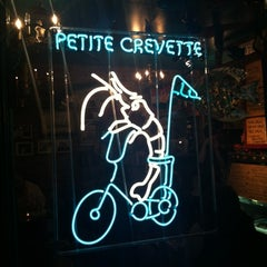 Photo taken at Petite Crevette by Carren O. on 3/25/2012