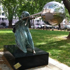 Photo taken at Berkeley Square by Rinat S. on 5/8/2011