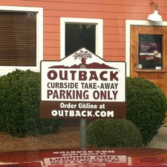 Photo taken at Outback Steakhouse by Mark I. on 1/21/2012