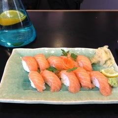 Photo taken at Sushibaren by Irina S. on 8/9/2012