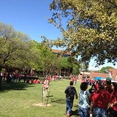 Photo taken at Brinker Lawn by Sherif B. on 3/23/2012