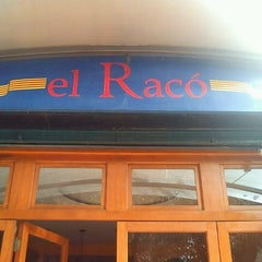 Photo taken at El Racó by Rodrigo R. on 1/19/2012
