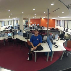 Photo taken at Murdoch University Library Learning Common North Wing 3 by Patrick K. on 6/3/2012