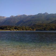 Photo taken at Bohinjsko jezero (Bohinj Lake) by Ivona L. on 8/28/2011