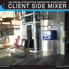 Photo taken at #LVIMA Client Side Mixer @Palms by Rick W. on 6/22/2012