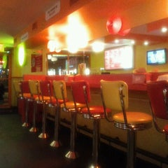 Photo taken at Lucky's Famous Burgers by Ryan P. on 7/24/2011