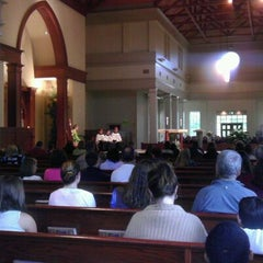 Photo taken at St. Mark's Catholic Church by Peter S. on 9/18/2011