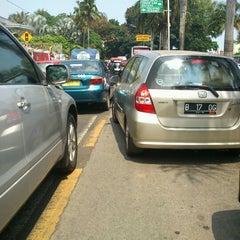 Photo taken at Jalan Metro Pondok Indah by Adam A. on 7/17/2012