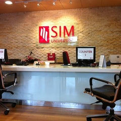 Photo taken at Singapore Institute of Management (SIM) by smerv on 1/4/2011