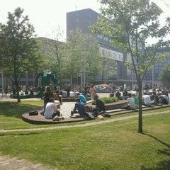 Photo taken at Erasmus University Rotterdam (EUR) by Edwin B. on 5/22/2012