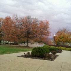 Photo taken at WVU Evansdale Library by David R. on 10/26/2011