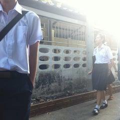Photo taken at โรงเรียนฤทธิยะวรรณาลัย (Rittiyawannalai School) by Chonnavee T. on 12/25/2011