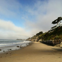 Photo taken at Isla Vista Beach by Bob W. on 7/1/2012