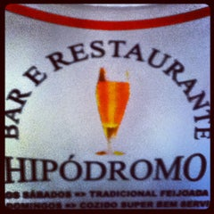 Photo taken at Bar e Restaurante Hipódromo by Maria Clara P. on 4/6/2012