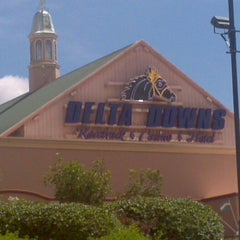 Photo taken at Delta Downs Racetrack, Casino & Hotel by Kathy C. on 7/15/2012