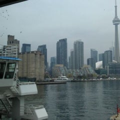 Photo taken at Billy Bishop Toronto City Airport Ferry by Matt J. on 5/1/2012