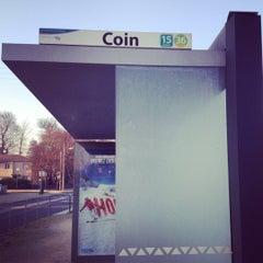 Photo taken at Arret Coin by Sébastien C. on 12/27/2011