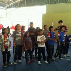 Photo taken at Sports Arena Pusat Sains Negara by Hana K. on 5/27/2012