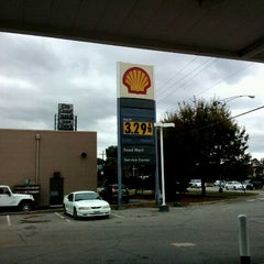 Photo taken at Shell by Jonathan G. on 10/10/2011