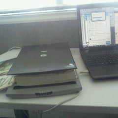 Photo taken at Biblioteca Inacap by Stephanie T. on 4/12/2012