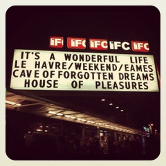 Photo taken at IFC Center by Nadia N. on 12/21/2011