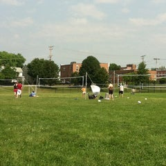 Photo taken at McCullough Field (Laurel) by Mirela T. on 5/27/2012