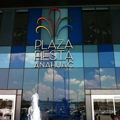Photo taken at Plaza Fiesta Anáhuac by IJulio L. on 6/25/2011