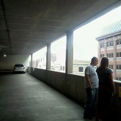 Photo taken at Bankers Life Fieldhouse Parking Garage by Katelyn B. on 8/6/2011